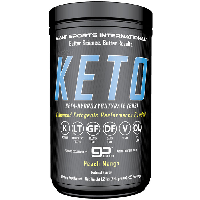 Giant Sports Giant Keto | 20 Servings - Peach Mango