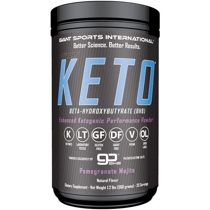 Giant Sports Giant Keto | 20 Servings - Pomegranate Mojito