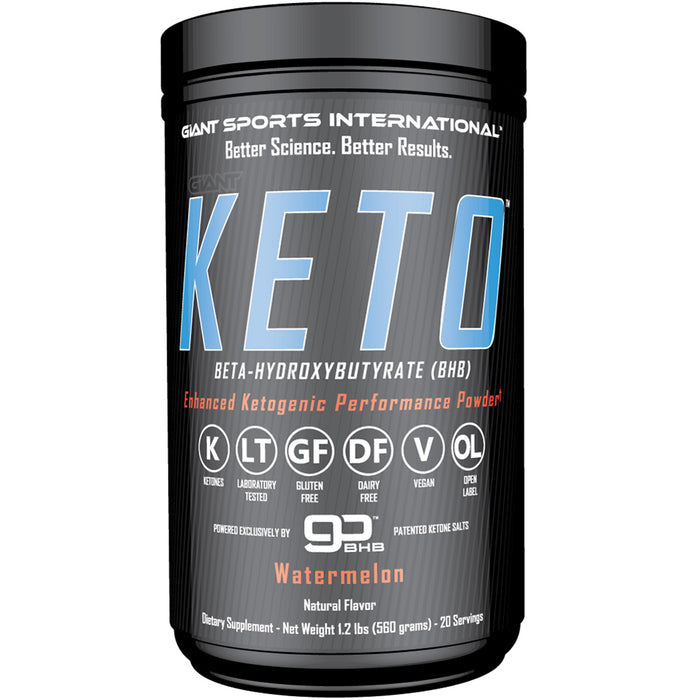Giant Sports Giant Keto | 20 Servings - Watermelon