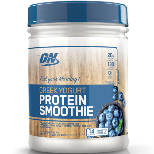 ON Greek Yogurt Protein Smoothie | 14 Servings - Blueberry