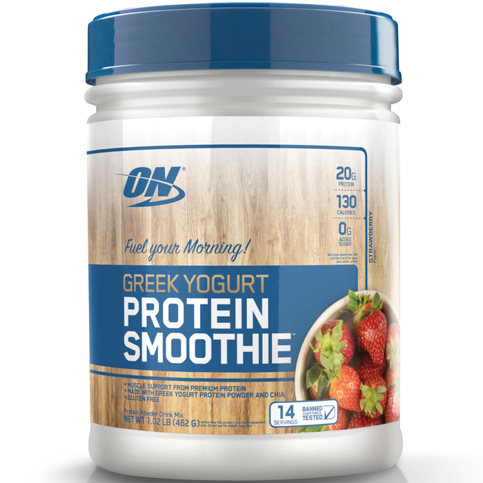ON Greek Yogurt Protein Smoothie | 14 Servings - Strawberry