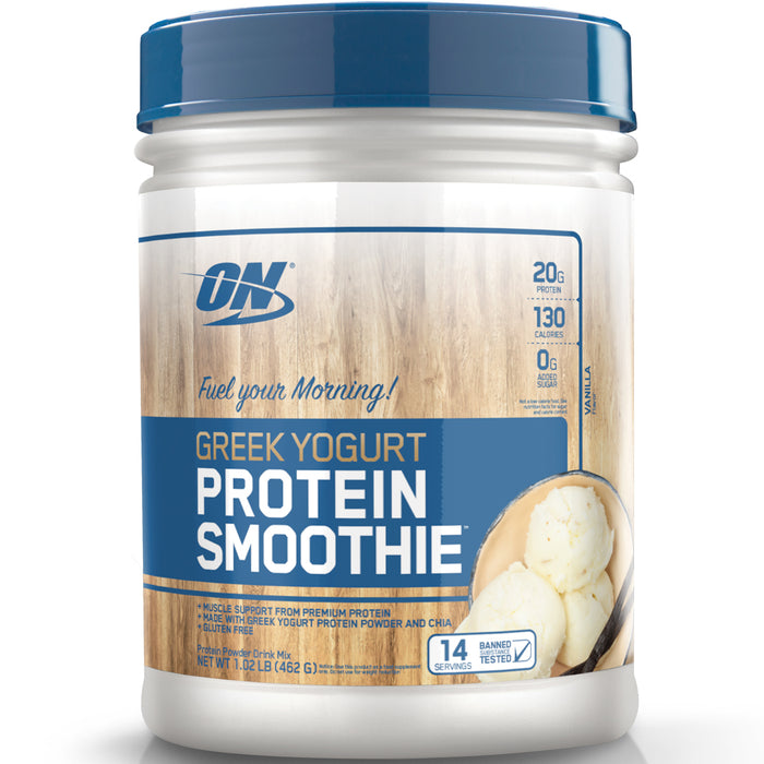 ON Greek Yogurt Protein Smoothie | 14 Servings - Vanilla