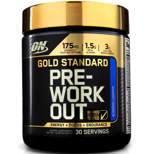 ON Gold Standard Pre-Workout - Blueberry Lemonade