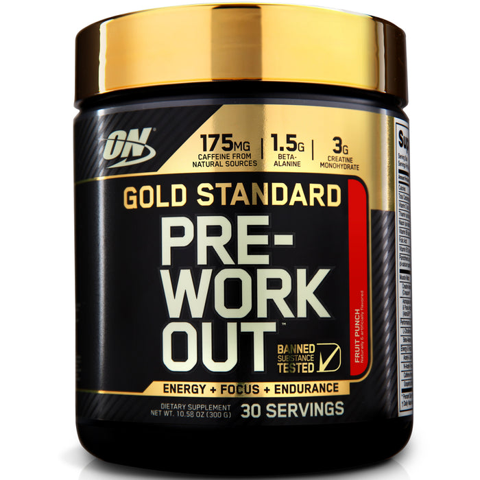 ON Gold Standard Pre-Workout - Fruit Punch
