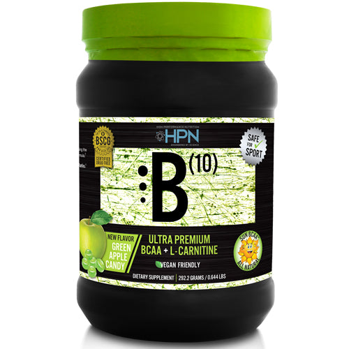 B(10) BCAA + L-Carnitine 30 Servings - Green Apple Candy