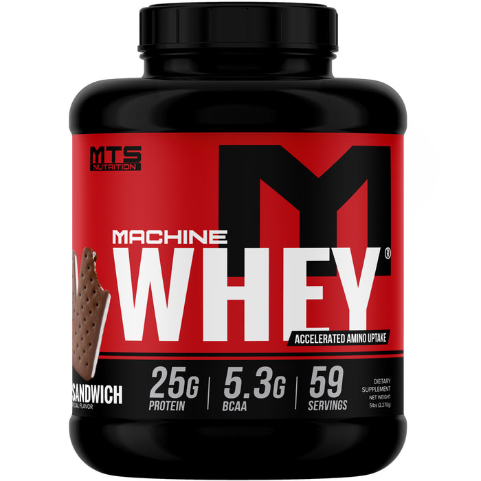 MTS Machine Whey Protein 5lbs. - Ice Cream Sandwich