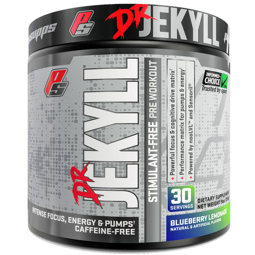 Pro Supps Dr. Jekyll Stimulant Free Blueberry Lemonade