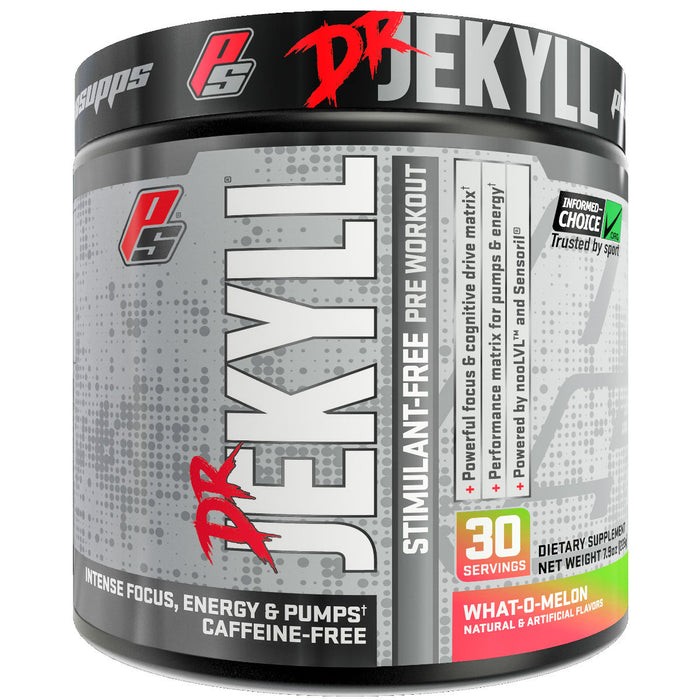 Pro Supps Dr. Jekyll Stimulant Free What-O-Melon