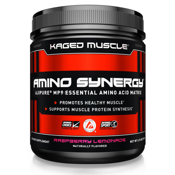 Kaged Muscle Amino Synergy Raspberry Lemonade