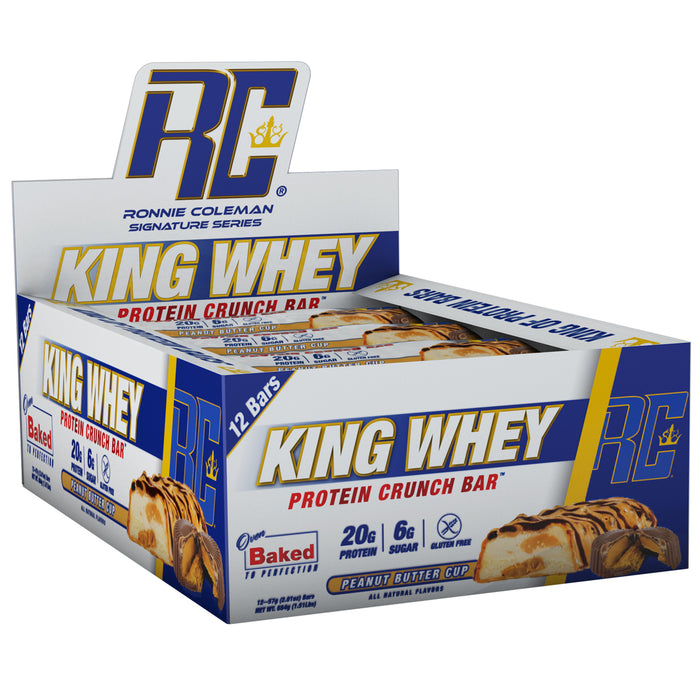 King Whey Protein Bars - Peanut Butter Cup