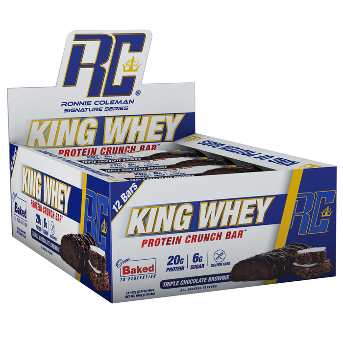 King Whey Protein Bars - Triple Chocolate Brownie