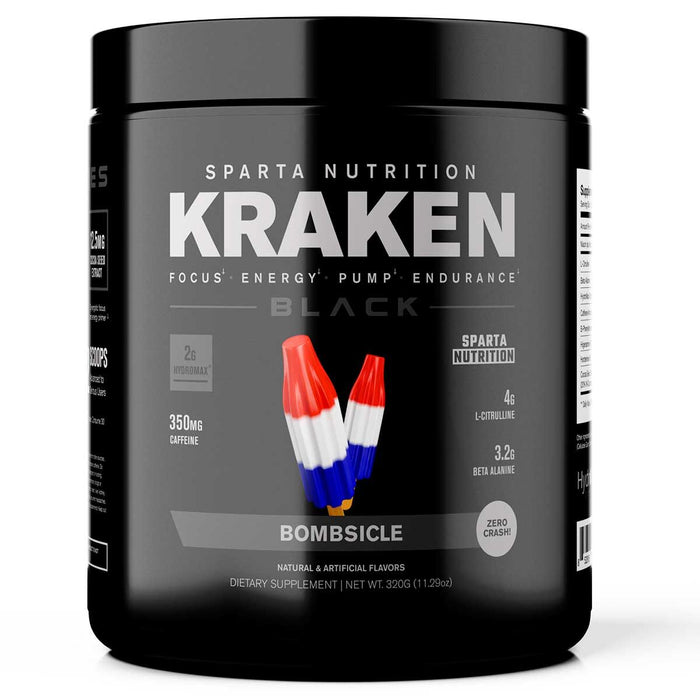 Sparta Nutrition Kraken BLACK Bombsicle