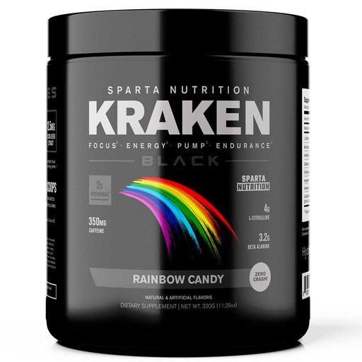 Sparta Nutrition Kraken BLACK Rainbow Candy