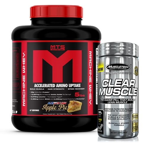 Machine Whey Clear Muscle Stack