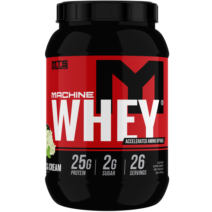 MTS Machine Whey Protein 2lbs. - Mint Cookies & Cream