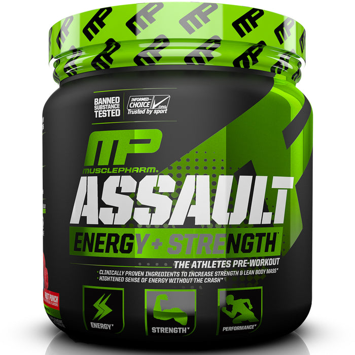MusclePharm Assault Sport Series 30 Serv. - Blue Razz