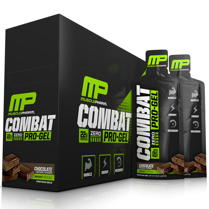 MusclePharm Combat Pro-Gel 12 ct. - Key Lime