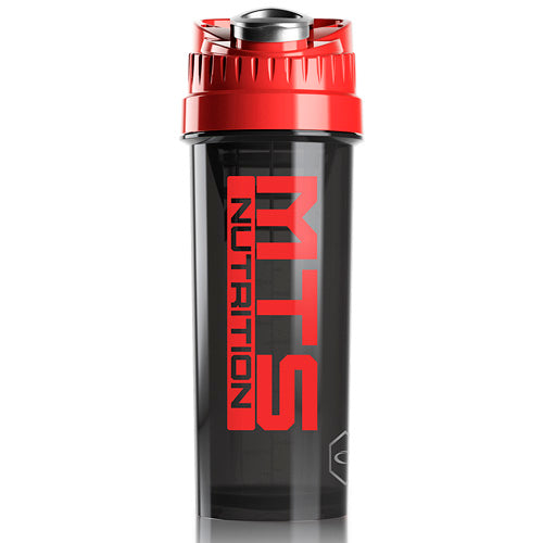 MTS Nutrition Cyclone Cup | 32oz Black & Red - Tiger Fitness