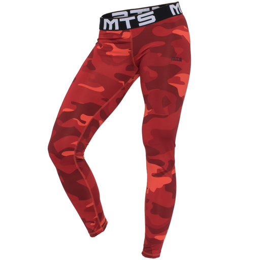 MTS Performance Full Length Legging | Red Camo - Large