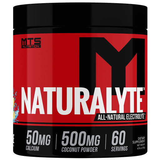 MTS Nutrition NaturaLyte | 60 servings - Refreshing Lemonade