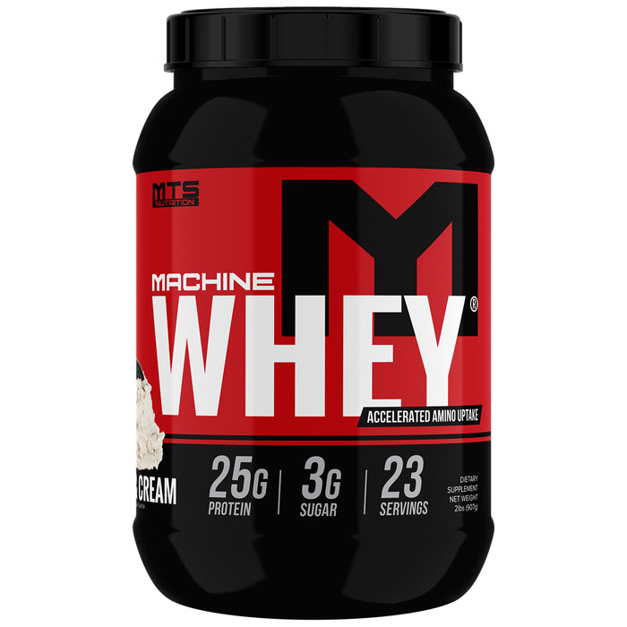 MTS Machine Whey Protein 2lbs. - Creamy Red Velvet Cake