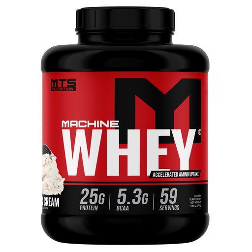 MTS Machine Whey Protein 5lbs. - Gourmet Cookies & Cream