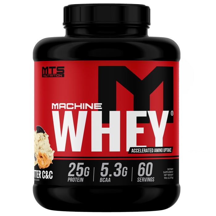 MTS Machine Whey Protein 5lbs. - Peanut Butter Cookies & Cream