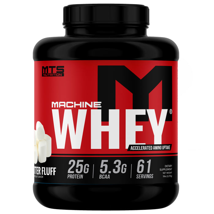 MTS Machine Whey Protein 5lbs. - Peanut Butter Fluff