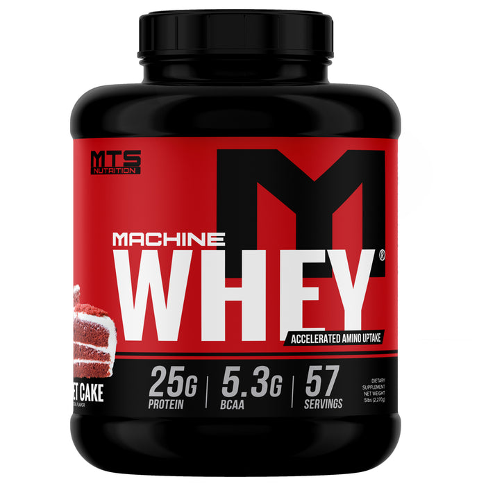 MTS Machine Whey Protein 5lbs. - Key Lime Pie