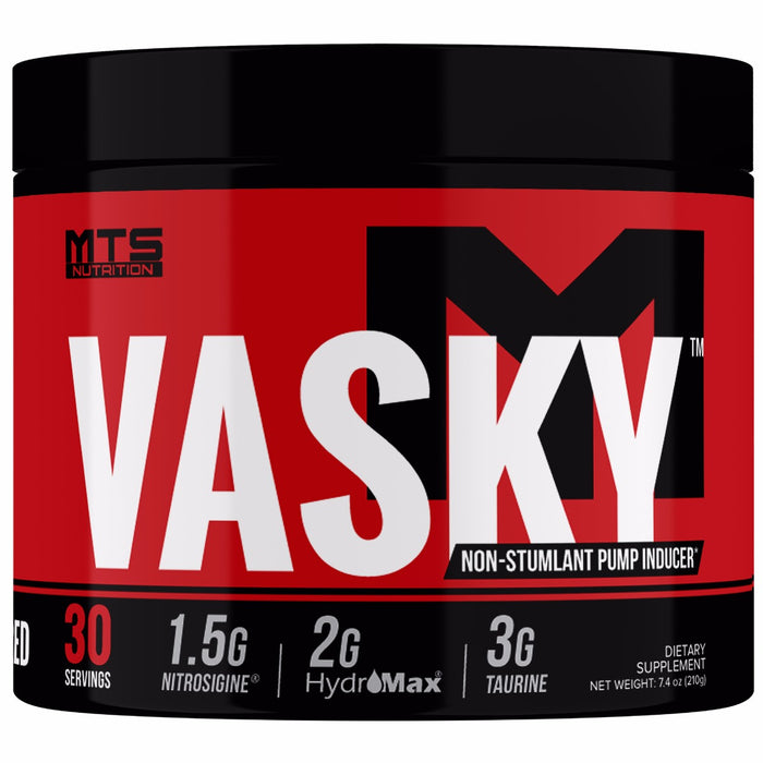 Vasky® Stimulant Free Pump Inducing Pre-Workout - Tiger Fitness