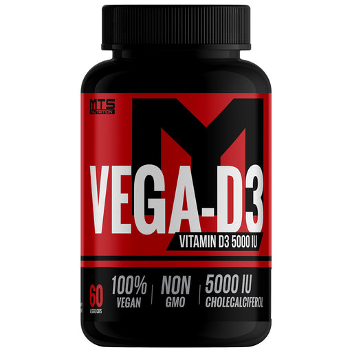 Vega-D3™ All-Natural Non-GMO Vitamin D3 5000 IU - Tiger Fitness