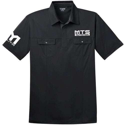 MTS Nutrition Polo | Black - Large