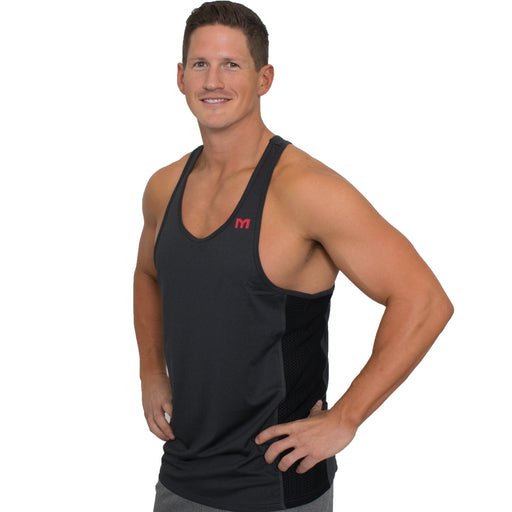 MTS Performance Stringer Tank | Black Heather - Large