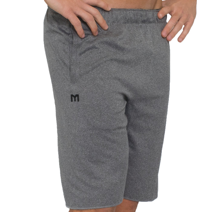 MTS Performance Waffle Short | Grey Heather - Large
