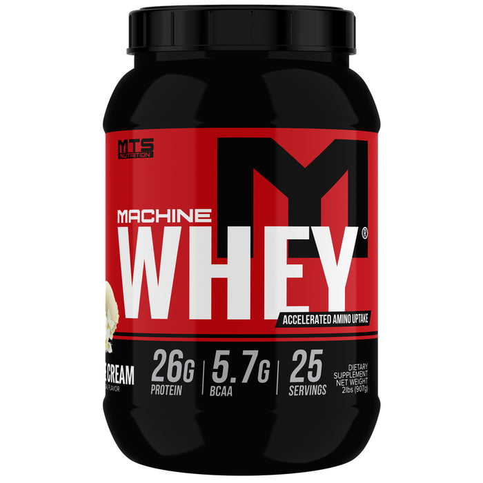 MTS Machine Whey Protein 2lbs. - Vanilla Ice Cream