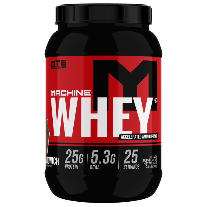 MTS Machine Whey Protein 2lbs. - Ice Cream Sandwich