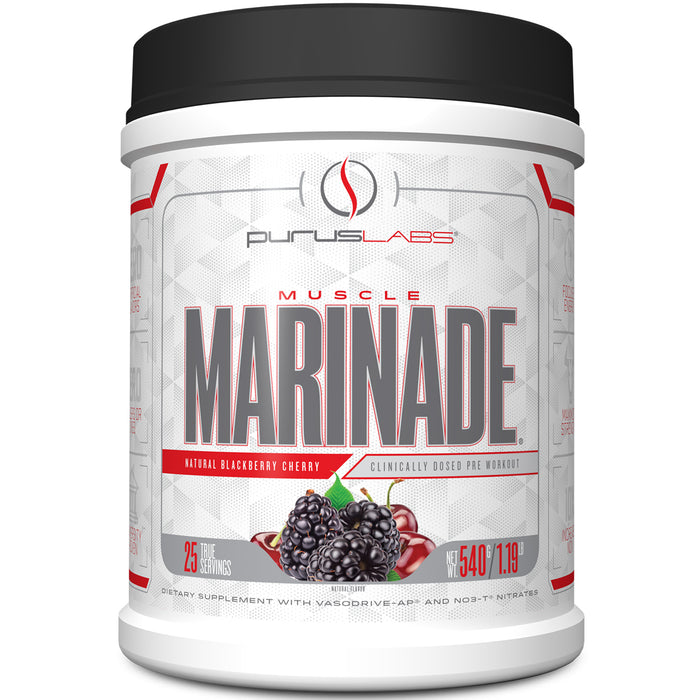 Muscle Marinade Pre Workout 25 Servings - Blackberry Cherry