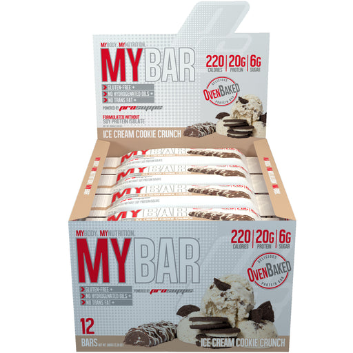 MyBar Box of 12 - Ice Cream Cookie Crunch
