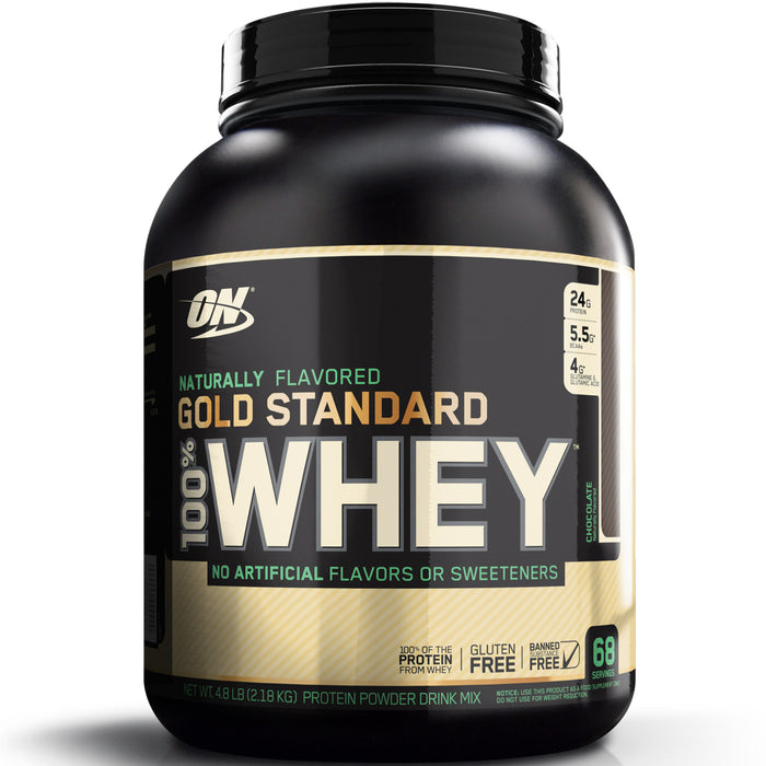 ON Gold Standard Natural 100% Whey 5lb - Chocolate