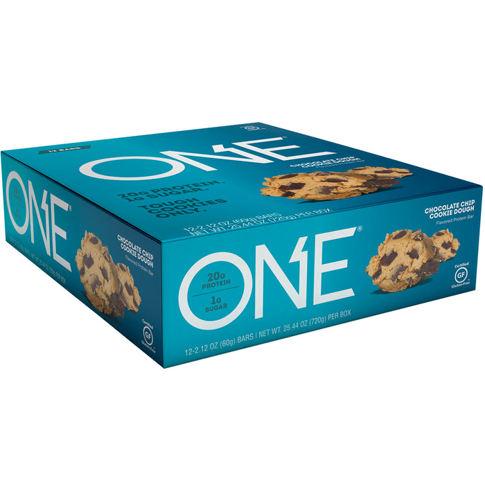 ONE Bars Box of 12  - Chocolate Chip Cookie Dough