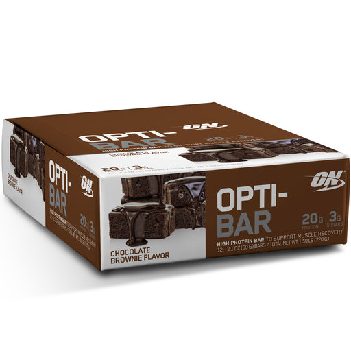 ON Opti-Bar Box of 12 - Chocolate Brownie
