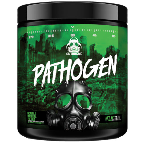 Outbreak Nutrition Pathogen Pre-Workout | 28 Servings - Agent Orange-Pineapple
