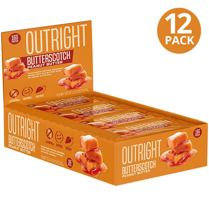 Outright Bar® Real Whole Food Protein Bar - Tiger Fitness