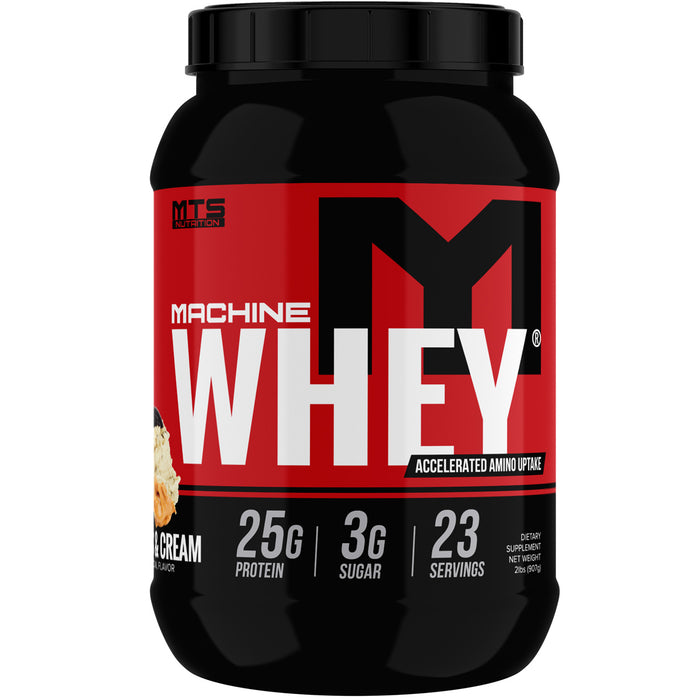MTS Machine Whey Protein 2lbs. - Peanut Butter Cookies & Cream