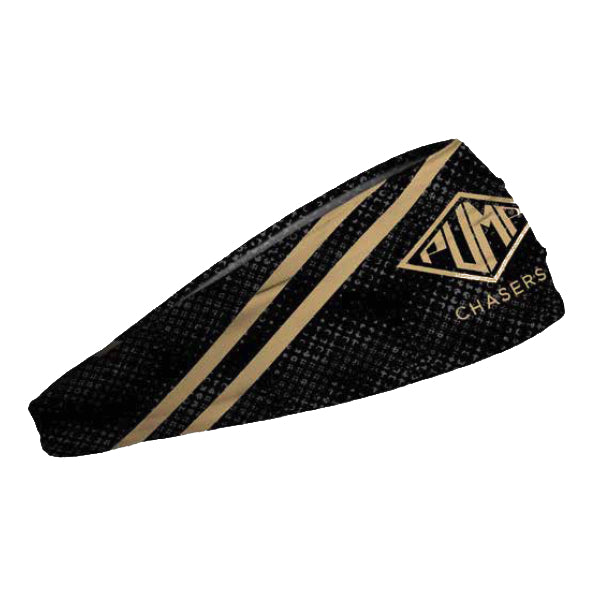 Pump Chasers Gold Stripe Junk Big Bang Lite Headband - Tiger Fitness