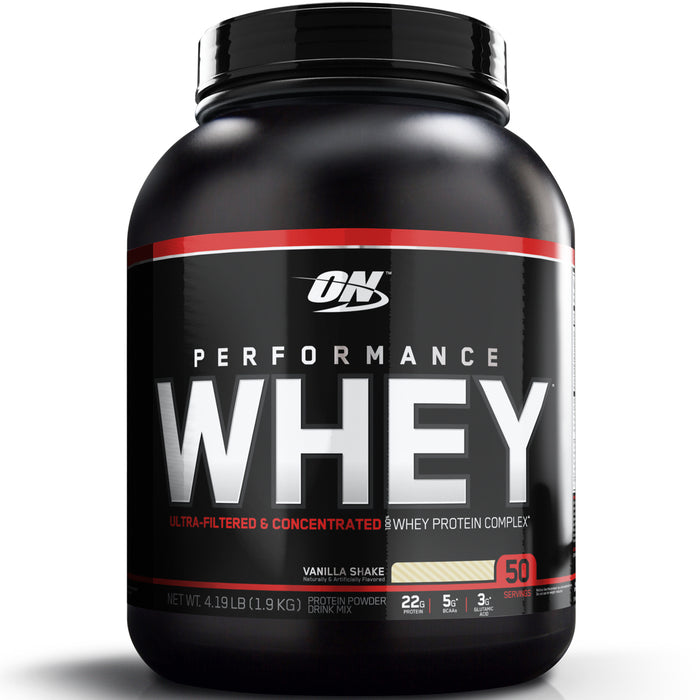ON Performance Whey 4Lb. - Vanilla
