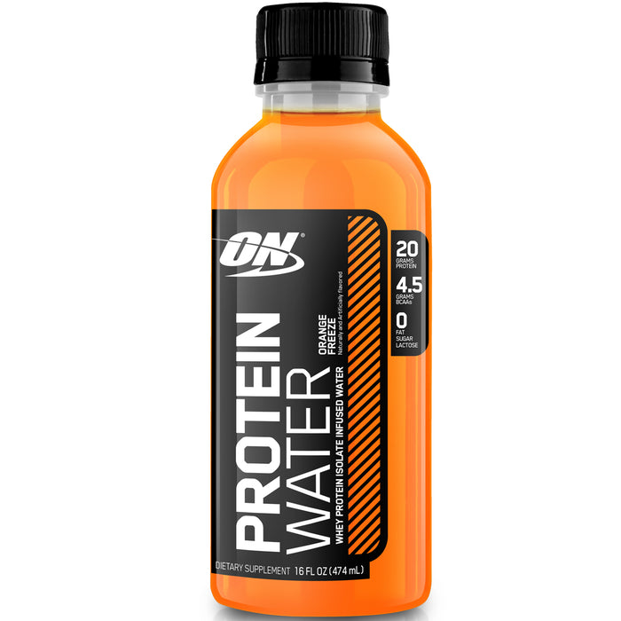 ON Protein Water Case of 12 - Orange Freeze
