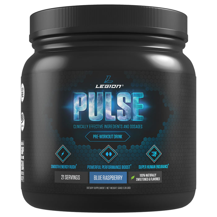 Legion Athletics Pulse | 21 Servings - Blue Razz