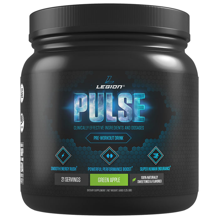 Legion Athletics Pulse | 21 Servings - Green Apple