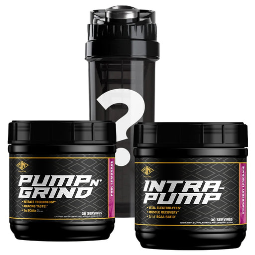 IntraPump + Pump N Grind + FREE Cyclone Cup - Tiger Fitness